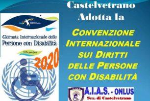 Castelvetrano adotta la Convenzione ONU